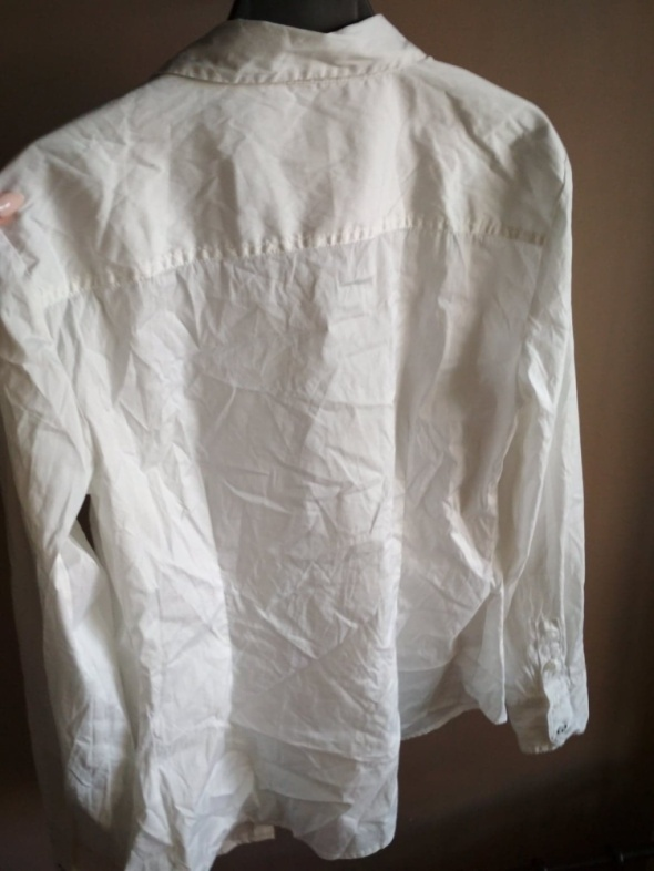 Biała koszula ZARA BASIC L elegancka originalna