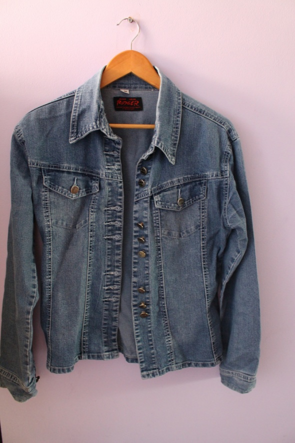 Kurtka jeansowa modna RODGER rozmiar M...