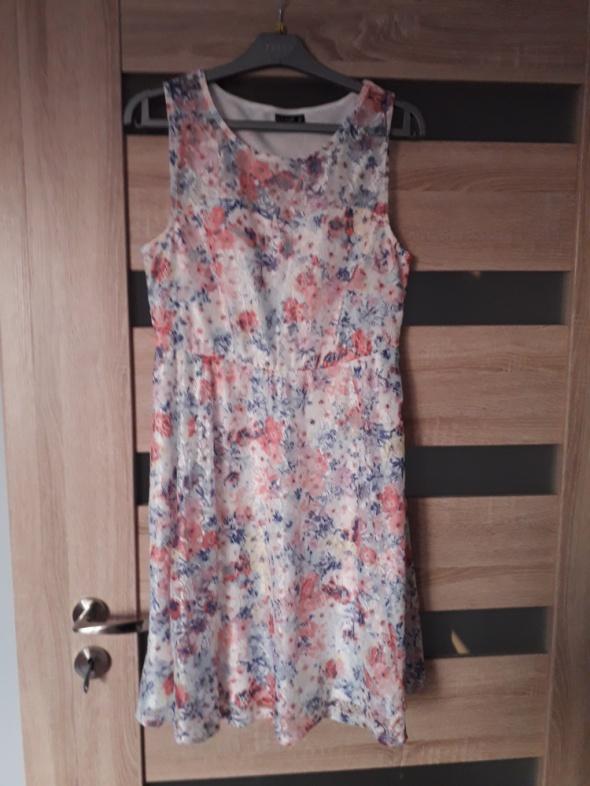 sukienka nowa kwiatki xl