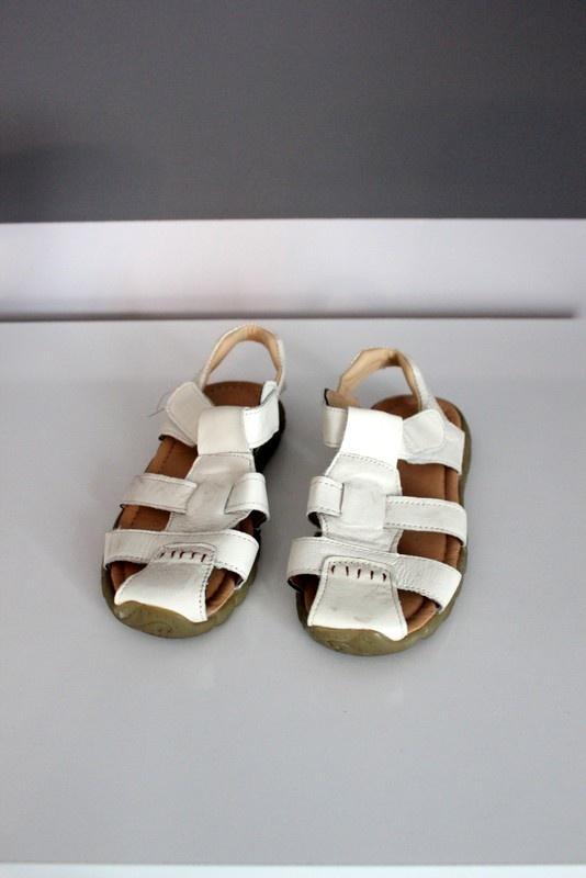 sandałki sandały skóra naturalna skóry naturalnej lato miękkie wygodne białe letnie buty