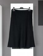 klasyczna spódniczka czarna midi kloszowana retro klasyka spódn...