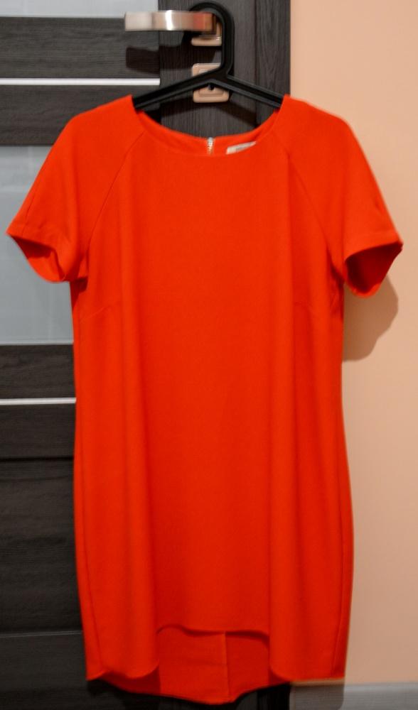 Sukienka Papaya 42 asymetryczna zamek