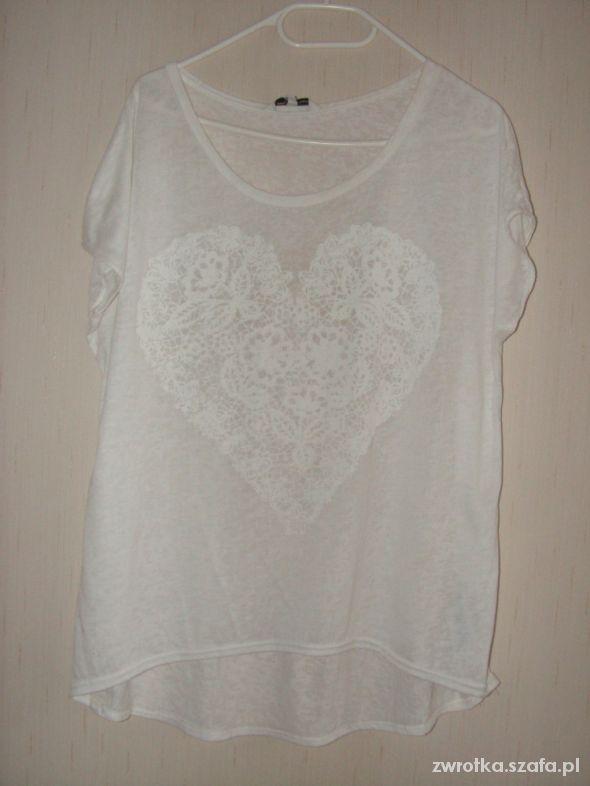 Bluzki Biała bluzka New Look