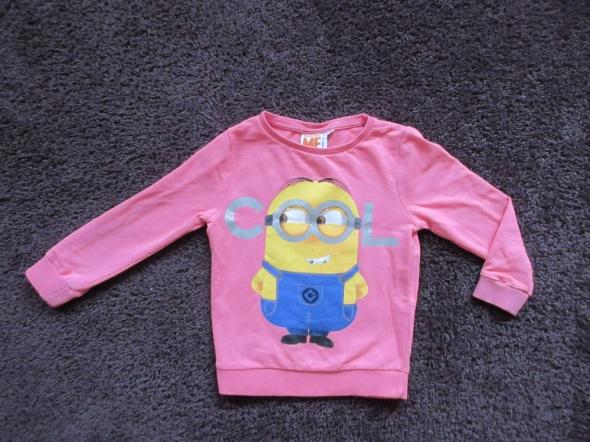Bluza dla dziewczynki MINIONKI roz 110