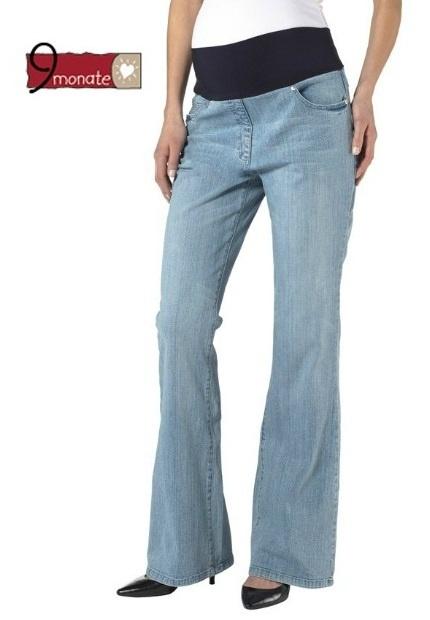 9 Monate NOWE Spodnie ciążowe jeansy L...