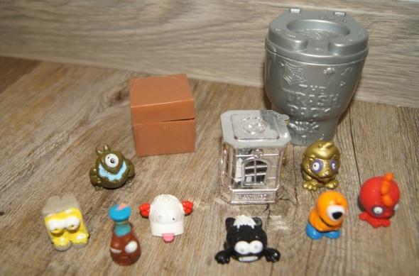 Zestaw figurki kolekcja Śmieciaki Trash Pack 11 elementów