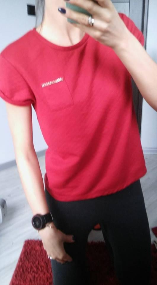 Bluzki koszulka PRIMARK pikowana nowa