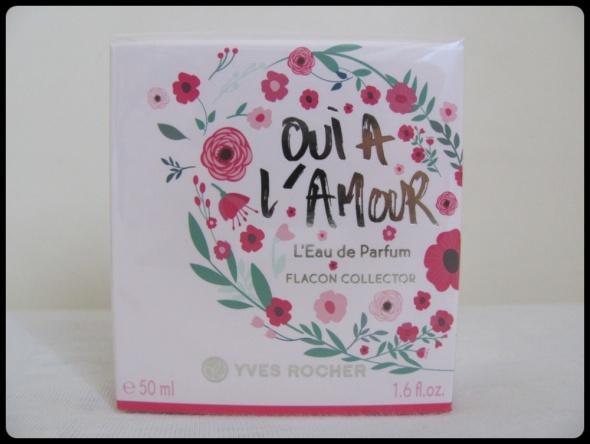 Edycja Limitowana Oui a l amour Woda Perfumowana Yves Rocher 50 ml