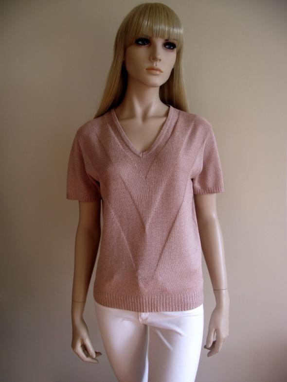 Bluzka sweterek z krótkim rękawem Jacqueline