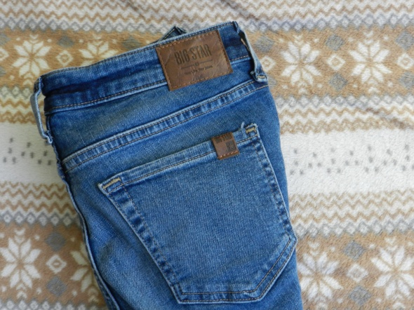 jeansy big star nowe...