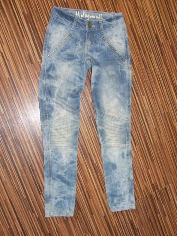 Spodnie i spodenki spodnie dziewczece Next rozmiar 134