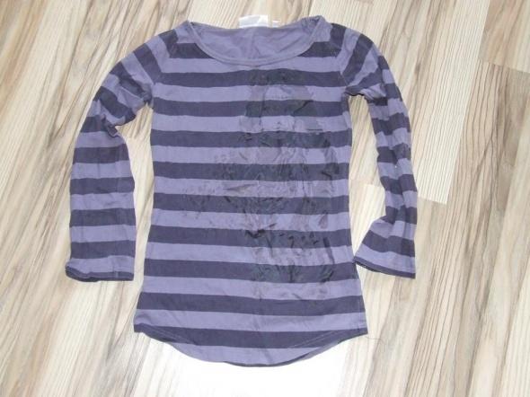 fioletowa bluzka w paski C&A rozmiar 146...