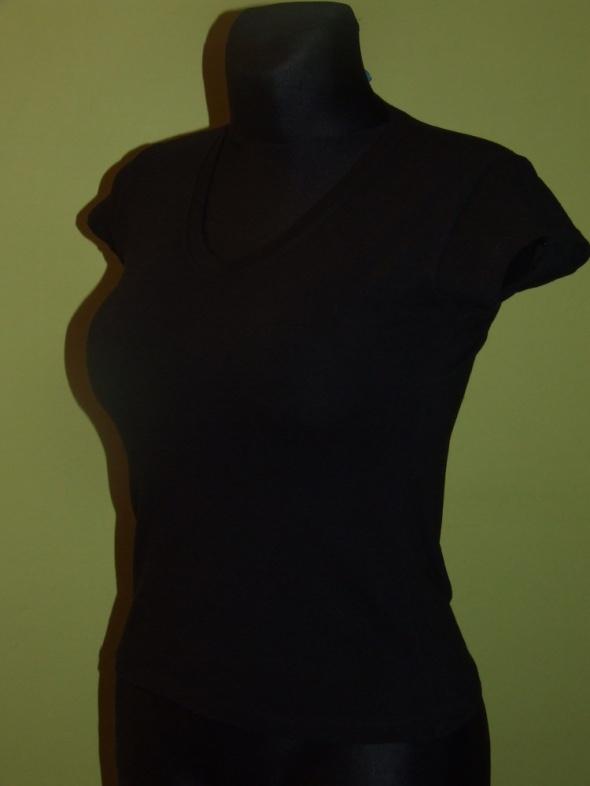 czarna koszulka University rozmiar S