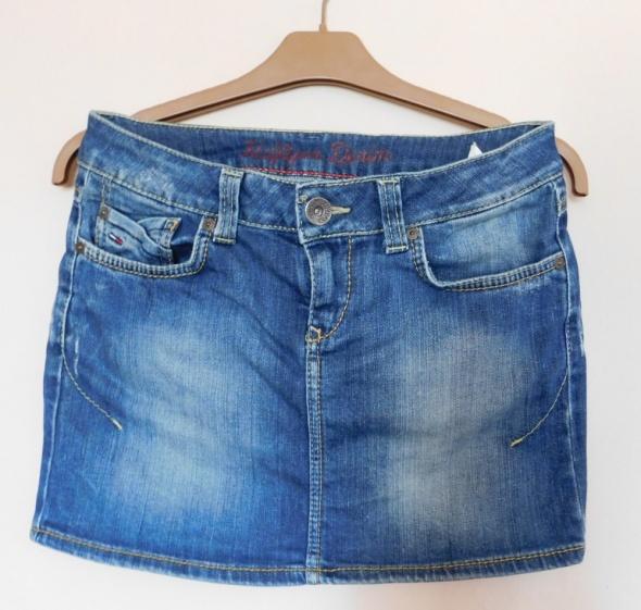 Tommy Hilfiger spódnica jeans mini 36