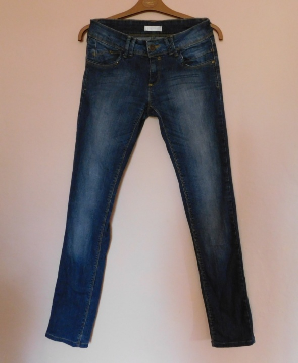 Promod spodnie jeans granatowe 36