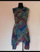 990e2eb62e Joe Browns sukienka kolorowa dzianina 38 40.