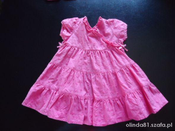 Śliczna sukienka 0 do 3m GEORGE