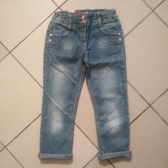 spodnie 134 dżinsy rurki George...