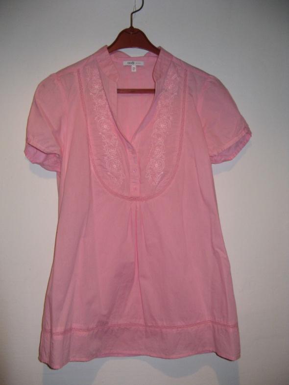 Różowa bluzka...