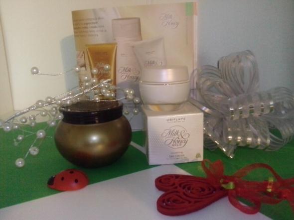 zestaw kosmetyków milk honey oriflame