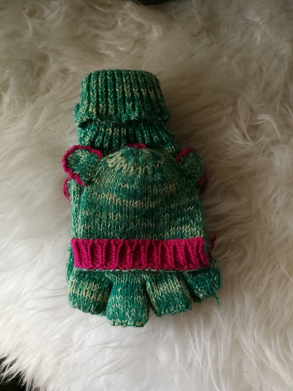 rękawiczki z klapkami