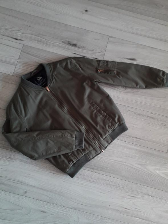 Kurtka bomberka khaki zamki 36 C&A...