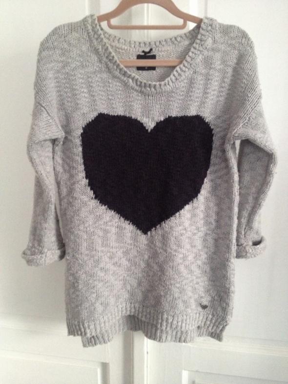 szary sweter Reserved rozm M