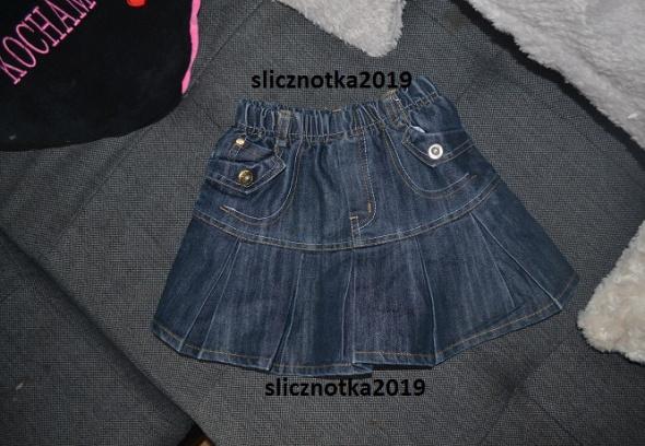 Spódniczka jeansowa 5 6 lat 110cm