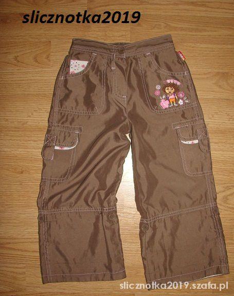 Dora spodnie 3 4 lata 104cm