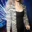 Sweter Ciepły Długi Postapokaliptyczny Szary Melanż Pull&Bear X...