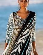 Śliczna tunika sukienka plażowa...