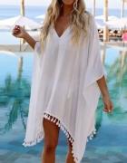 Śliczna tunika plażowa...