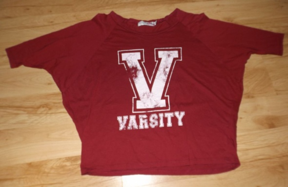 Krótka koszulka top Varsity Internacionale S...