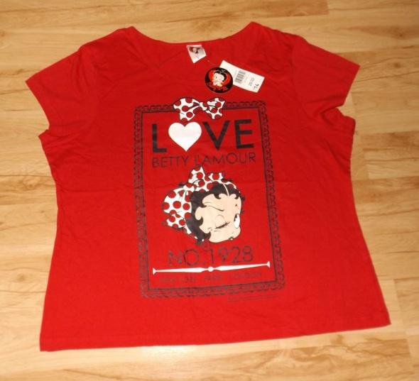 Nowa koszulka z Betty Boop 48 do 50