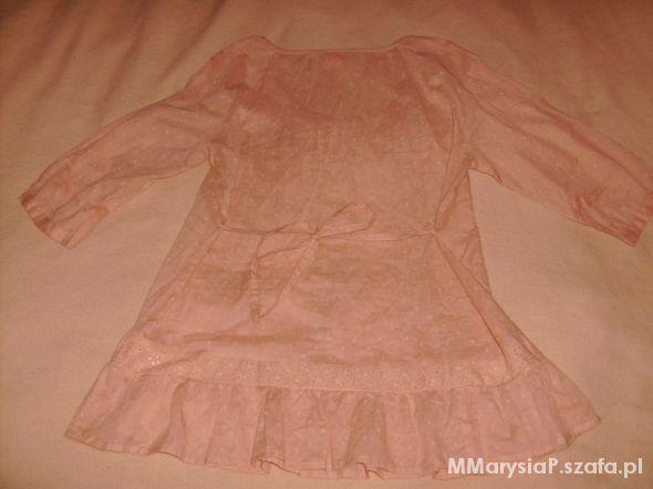 Przewiewna bawełniana bluzka XXL