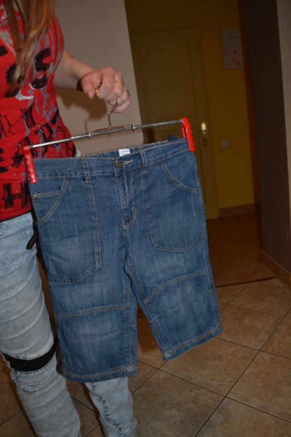 Spodenki jeansowe TU 122cm 128cm 7 8 lat...