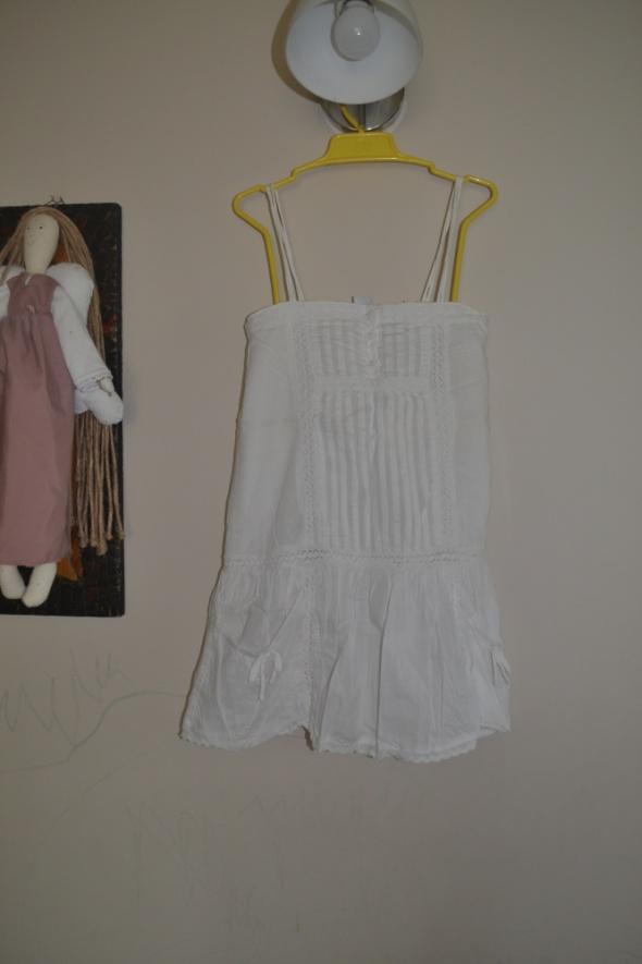 Zara Biała Sukienka 128cm 122cm 7 8 lat