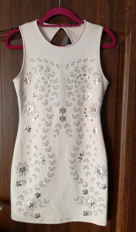 Sukienka z ozdobnym przodem 12 40