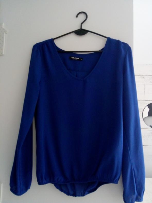 bluzka S kobaltowa...
