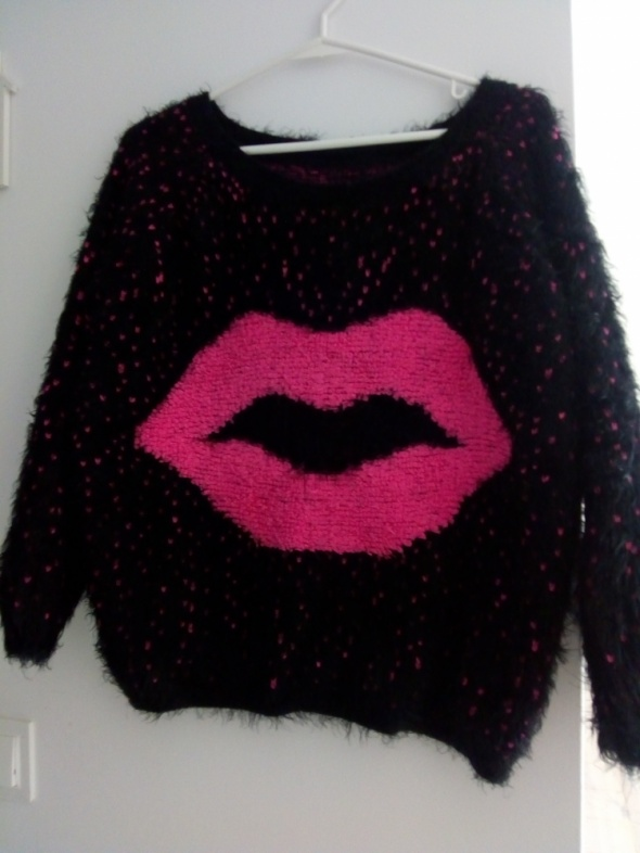 Swetry sweter oversize XS S