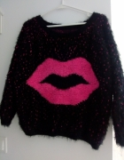 sweter oversize XS S...