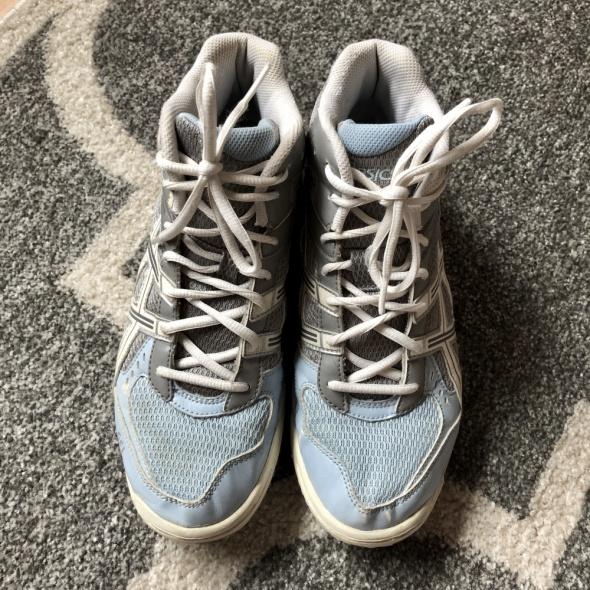 Buty Sportowe ASICS biało błękitne rozmiar 40 w Sportowe