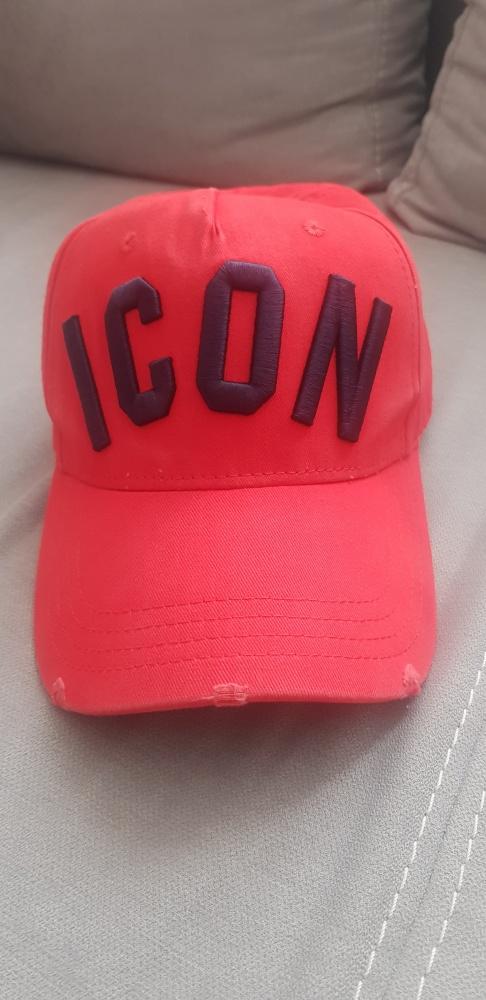 ICON bejsbolowka czapka z daszkiem dsquared nowy designer
