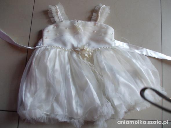 Sukieneczka roczek chrzciny rozm na 1 rok