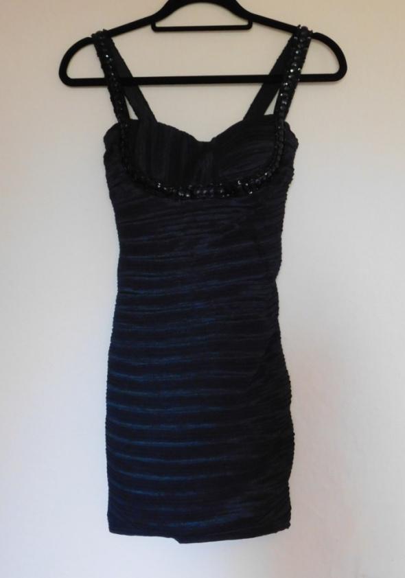 Nazz Collection sukienka sexy mała czarna 36
