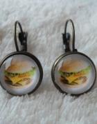 Kolczyki hamburgery wybór wzoru...