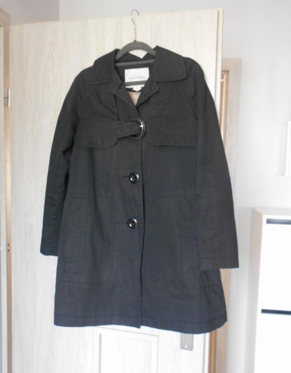 Zara grafitowy wiosenny płaszczyk trencz płaszcz