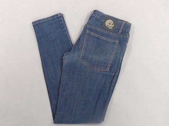 NARROW CLEAR BLUE spodnie damskie W30 L32 pas 80 c