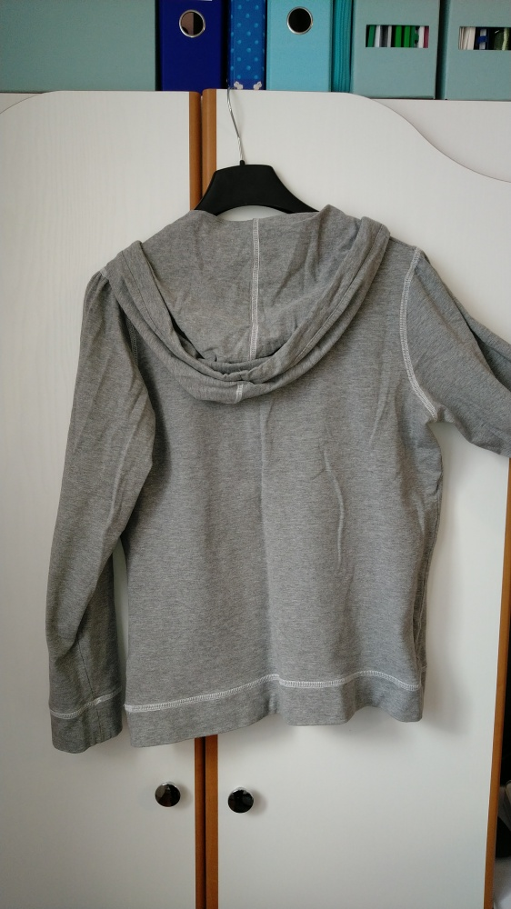 bluzka z długim rękawem bluza H&M kangurek
