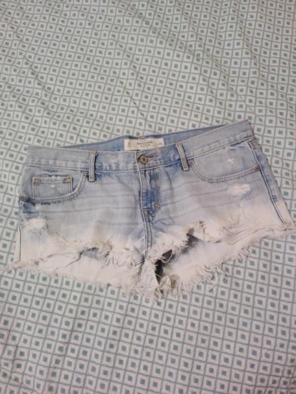 Spodenki Spodenki Abercrombie & Fitch a&f hollister lato krótkie jeans m